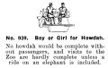 Boy or Girl for Howdah, Britains Zoo No939 (BritCat 1940).jpg