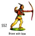 Brave with Bow, Britains Swoppets 552 (Britains 1967).jpg