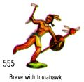 Brave with Tomahawk, Britains Swoppets 555 (Britains 1967).jpg