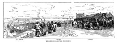 1846: Brighton from the Terminus