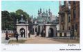 Brighton Pavilion before the construction of the Indian Gate, pre-1921 (postcard, old, unclaimed).jpg