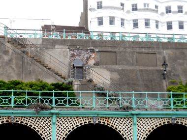 Brighton Promenade, stairways and doorways detail
