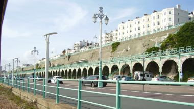 Brighton Promenade, looking West