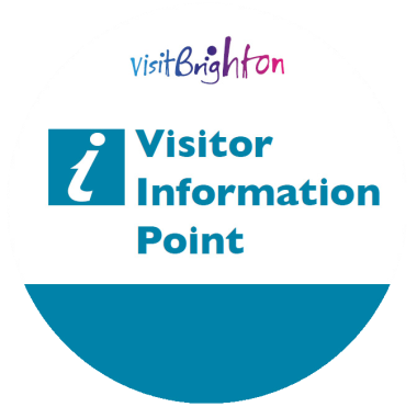 "Brighton ""VIP"" Visitor Information Point badge"