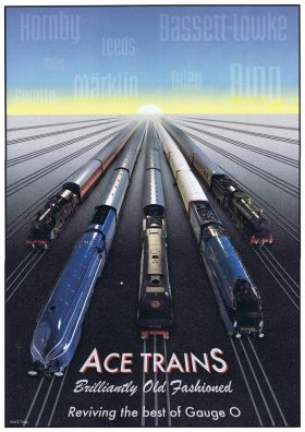 "~2013: ""Brilliantly Old-Fashioned"" ACE Trains poster"
