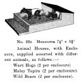 Britains Zoo Enclosure 22z, Animal Houses (BritCat 1940).jpg