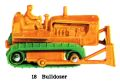 Bulldozer, Matchbox No18 (MBCat 1959).jpg