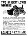 Burrell traction engine, Streamlinea motor boat, Bassett-Lowke (MM 1935-08).jpg