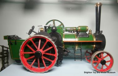 1/16 scale Burrell-type exhibition-grade model based on Bassett-Lowke castings