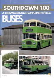 Southdown 100 anniversary supplement, Buses magazine (June 2015)