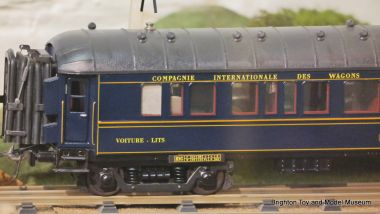CIWL gauge 0 railway carriage, by Elettren