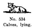 Calves, lying, Britains Farm 534 (BritCat 1940).jpg