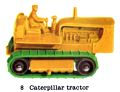 Caterpillar Tractor, Matchbox No8-B (MBCat 1959).jpg