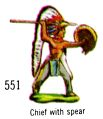 Chief with Spear, Britains Swoppets 551 (Britains 1967).jpg