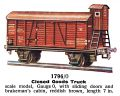 Closed Goods Truck,with sliding doors, Märklin 1796 (MarklinCat 1936).jpg