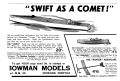 Comet clockwork speedboat, Swift as a Comet, Bowman Models (MM 1933-06).jpg