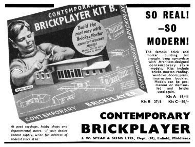 "1960: ""So Real – So Modern!"" Contemporary Brickplayer"