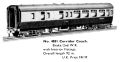 Corridor Coach Brake-Second WR, Hornby Dublo 4051 (MM 1960-012).jpg