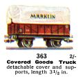 Covered Goods Truck, 00 gauge, Märklin 363 (Marklin00CatGB 1937).jpg