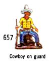 Cowboy On Guard, Britains Swoppets 657 (Britains 1967).jpg