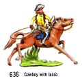 Cowboy With Lasso, Britains Swoppets 636 (Britains 1967).jpg