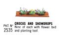 Crocuses and Snowdrops, Britains Floral Garden 2535 (Britains 1966).jpg