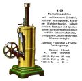 Dampfmaschine - Vertical Stationary Steam Engine, Märklin 4109 (MarklinCat 1931).jpg