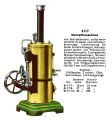 Dampfmaschine - Vertical Stationary Steam Engine, Märklin 4117 (MarklinCat 1931).jpg