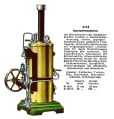 Dampfmaschine - Vertical Stationary Steam Engine, Märklin 4118 (MarklinCat 1931).jpg