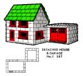 Detached House and Garage, No1 Set, Airfix Betta Bilda (ABBins 1960s).jpg