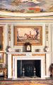 Dining Room Fireplace, The Queens Dolls House postcards (Raphael Tuck 4500-5).jpg