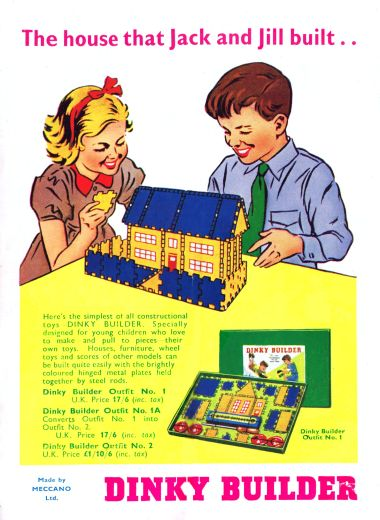 Category dinky builder the brighton toy and model index for Jack and jill house