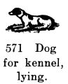 Dog for kennel, lying, Britains Farm 569 (BritCat 1940).jpg