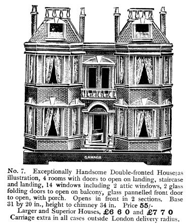 1906: Gamages Dollhouse No.7