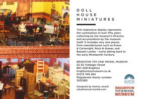 2016: Dollhouse Miniatures leaflet, back