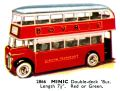 Double-deck Bus, Minic 2866 (TriangCat 1937).jpg