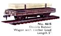Double Bolster Wagon with Timber Load, Hornby Dublo 4615 (DubloCat 1963).jpg