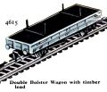 Double Bolster Wagon with Timber Load, Hornby Dublo 4615 (HDBoT 1959).jpg