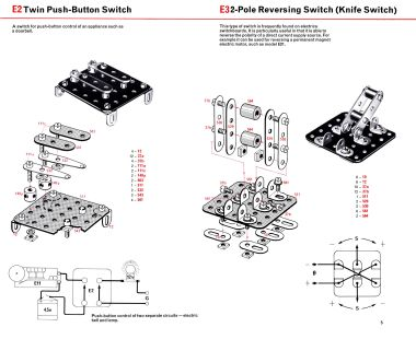 Elektrikit switch construction