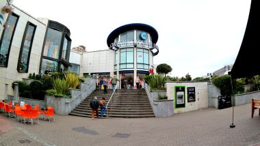 2014: East tower of the Churchill Square Shopping Centre