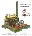 Electrisch beheizte Dampfmaschine - Horizontal Electrically Powered Stationary Steam Engine, Märklin El-4097 (MarklinCat 1931).jpg