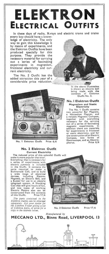 "November 1935: ""The No.2 Outfit has the added attraction this year of a considerable price reduction."""