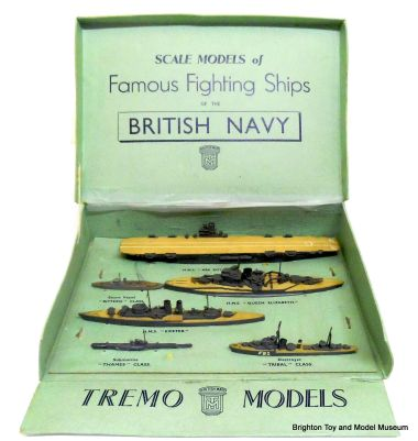"Tremo Models ""Famous Fighting Ships of the British Navy"", Set No.4"