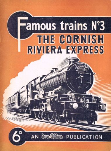 The Cornish Riviera Express, started by the GWR in 1904
