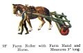 Farm Roller with Farm Hand and Horse, Britains Farm 9F (Britains 1958).jpg
