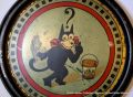 Felix the Cat seaside bucket, lid artwork (1920s).jpg
