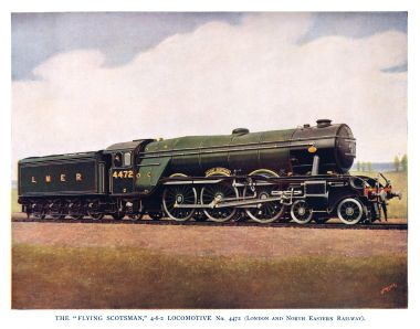 LNER 4472 Flying Scotsman, photo published in the mid-1930s