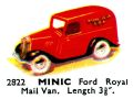 Ford Royal Mail Van, Minic 2822 (TriangCat 1937).jpg