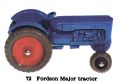 Fordson Major Tractor, Matchbox No72 (MBCat 1959).jpg