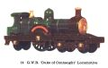 GWR Duke of Connaught Locomotive, Matchbox Y14-1 (MBCat 1959).jpg